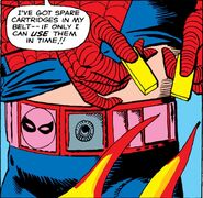 Spider-Man's Utility Belt (Earth-616) from Amazing Spider-Man Vol 1 12