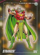 Stranger (Cosmic Being) (Earth-616) from Marvel Universe Cards Series III 0001