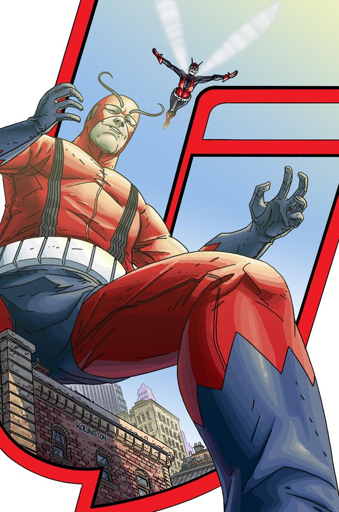 Avengers Earth's Mightiest Heroes Vol 1 5 Textless