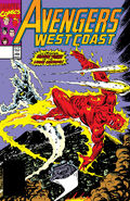 Avengers West Coast Vol 1 63