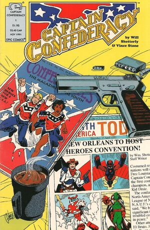 Captain Confederacy Vol 1 1