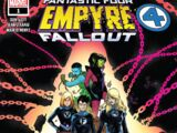 Empyre: Fallout Fantastic Four Vol 1 1