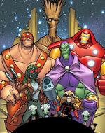 Guardians of the Galaxy (Earth-TRN421) from 100th Anniversary Special - Guardians of the Galaxy Vol 1 1 001