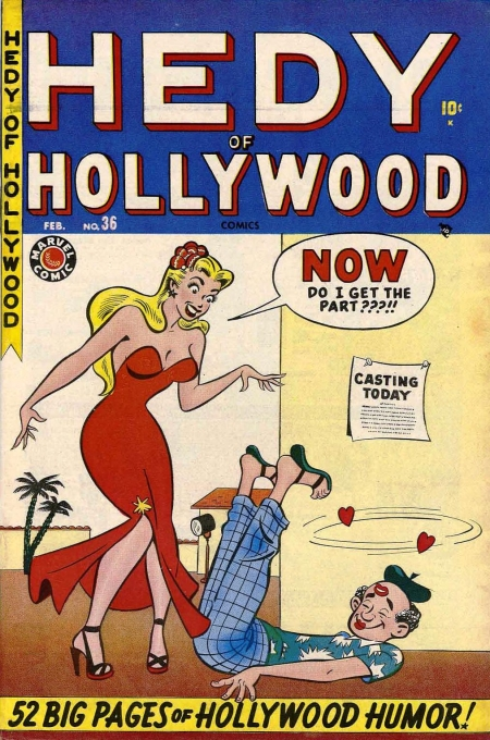 Hedy of Hollywood Comics Vol 1 36