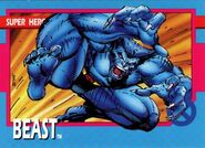 Henry McCoy (Earth-616) from X-Men (Trading Cards) 1992 Set 0001