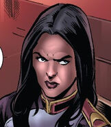 Jessica Drew (Earth-58163) from House of M Masters of Evil Vol 1 2 0001