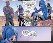 Mach Two's Renegades Team (Earth-1610) from Ultimate Comics X-Men Vol 1 22 0001