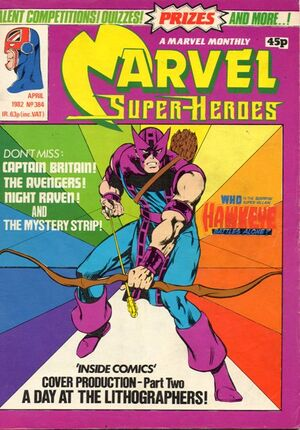 Marvel Super-Heroes (UK) Vol 1 384