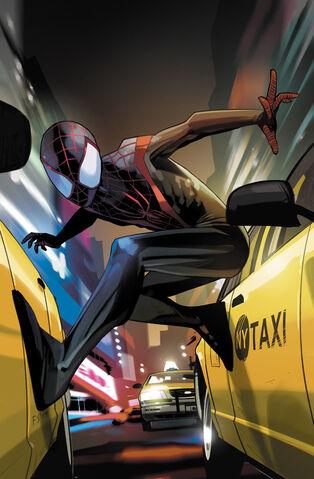 File:Miles Morales Ultimate Spider-Man Vol 1 1 Staples Variant Textless.jpg