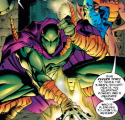 Reverb (Gene Nation) (Earth-616) from Uncanny X-Men Vol 1 325