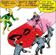 Spider-Man's Spider-Signal (Earth-616) from Amazing Spider-Man Vol 1 9