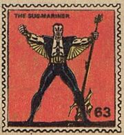 Sub-Mariner Marvel Value Stamp