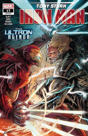 Tony Stark Iron Man Vol 1 17