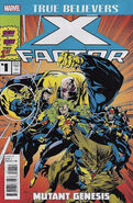 True Believers X-Factor - Mutant Genesis Vol 1 1