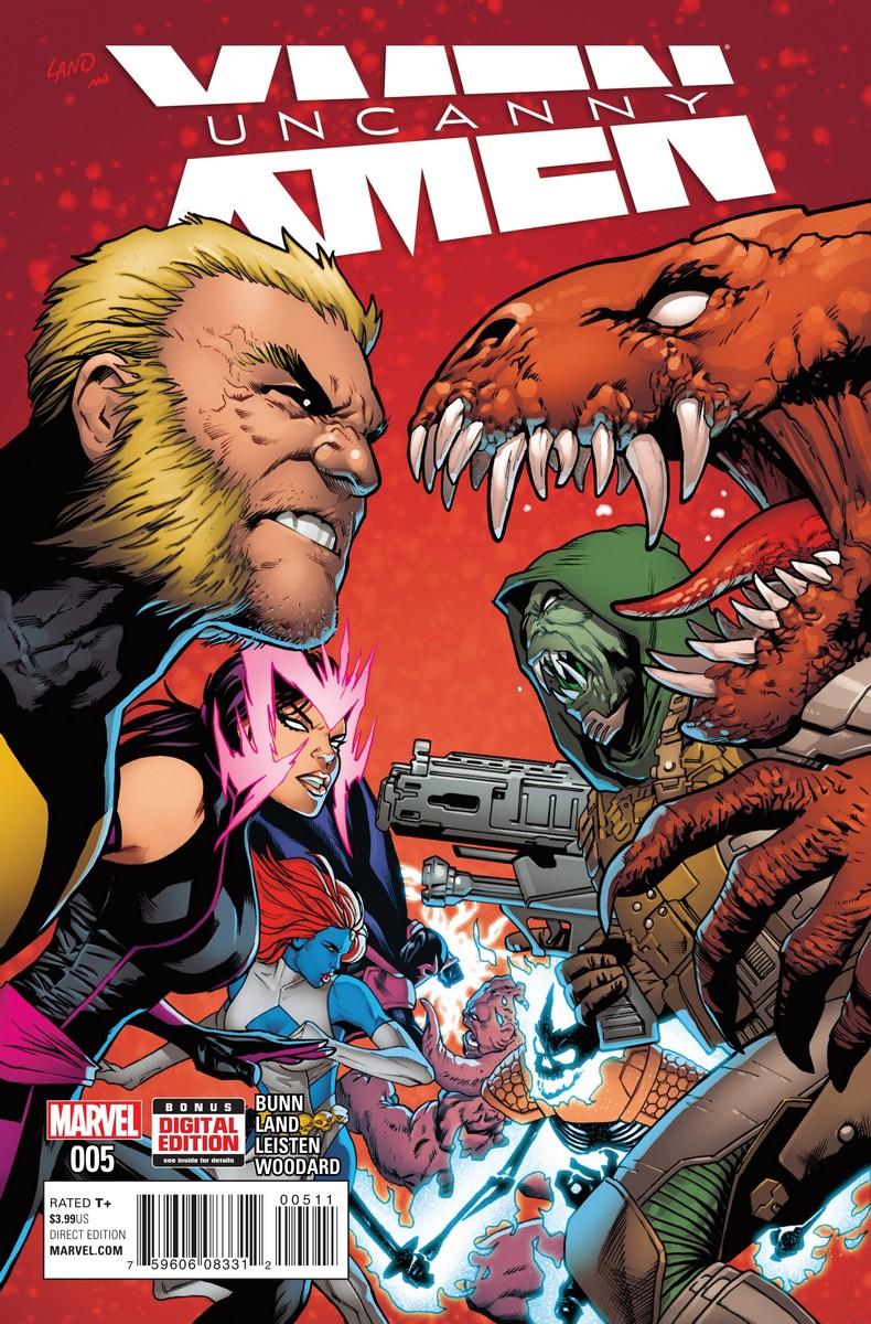 Uncanny X-Men Vol 4 #4 2016 Marvel