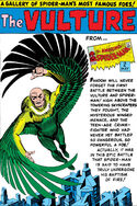 Vulture Pin-Up from Amazing Spider-Man Annual Vol 1 1