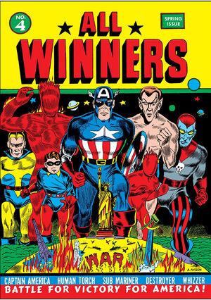 All Winners Comics Vol 1 4