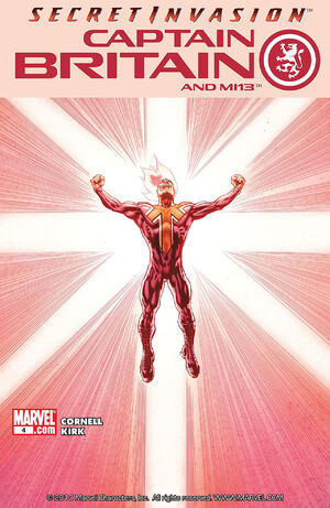 Captain Britain and MI-13 Vol 1 4