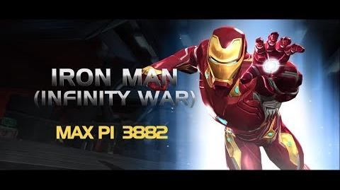 Iron Man (Infinity War) Special Moves Marvel Contest of Champions