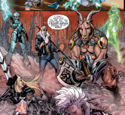 Magical Resistance (Earth-616) from Extraordinary X-Men Vol 1 13 001