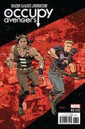 Occupy Avengers Vol 1 3 Panosian Variant