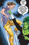 Owen Reece (Earth-616) and Jennifer Walters (Earth-616) from Incredible Hulk Vol 1 442 001