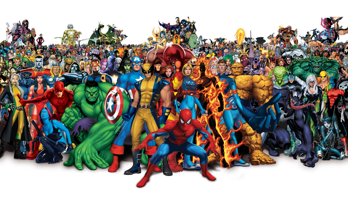 Image result for marvel comics characters