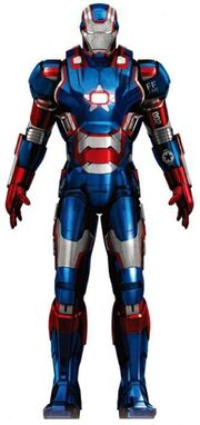 War Machine Armor MK II (Earth-199999) 002