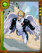Warren Worthington III (Earth-616) from Marvel War of Heroes 007