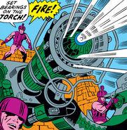 Air gun, servo-guards (Earth-616) from Fantastic Four Vol 1 87