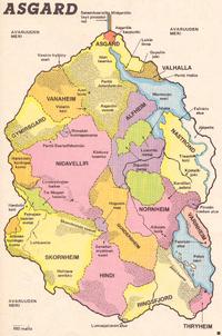Asgardin kartta