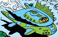 Atlantean Imperial Jet Craft from Fantastic Four Annua Vol 1 1