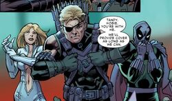 Avengers (Earth-18119) and Strategic Homeland Intervention, Enforcement and Logistics Division (Earth-18119) from Amazing Spider-Man Renew Your Vows Vol 1 4 0001