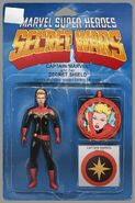 Captain Marvel and the Carol Corps Vol 1 1 Action Figure Variant Textless