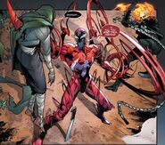 Cletus Kasady (Earth-616), Alejandra Jones (Earth-616), Johnathon Blaze (Earth-616) from Absolute Carnage Symbiote of Vengeance Vol 1 1 0001