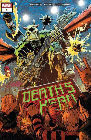 Death's Head Vol 2 1