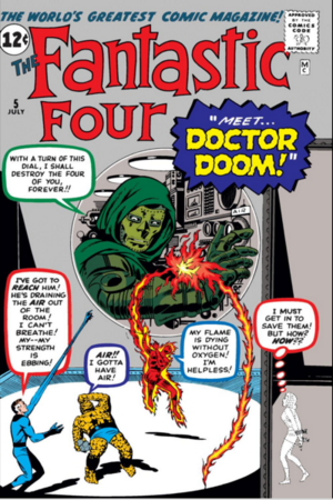 Fantastic Four Vol 1 5