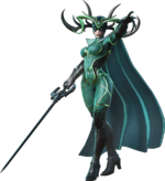 Hela (Earth-TRN765) from Marvel Ultimate Alliance 3 The Black Order 002