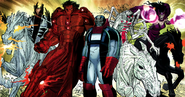 Horsemen of Apocalypse (Earth-10082) from Avengers Vol 4 3 0001