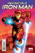Invincible Iron Man Vol 3 1 Stegman Variant