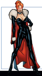 Madelyne Pryor (Earth-616) from X-Men Phoenix Force Handbook Vol 1 1