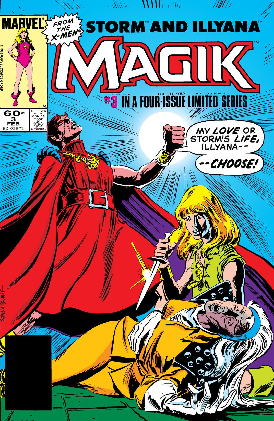 Magik (Illyana and Storm Limited Series) Vol 1 3.jpg