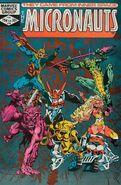 Micronauts Vol 1 38