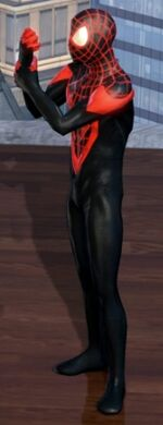 Miles Morales (Earth-TRN258) from Marvel Heroes (video game) 0001