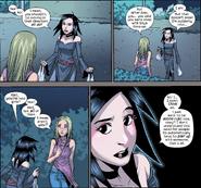 Nico Minoru (Earth-616) Karolina Dean (Earth-616) Runaways Vol 2 7