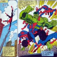 Peter Parker (Earth-616) and Bruce Banner (Earth-616) from Spider-Man Vol 1 26 0001