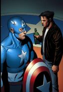 Steven Rogers and James Howlett (Earth-616) from Wolverine Origins Vol 1 17 0001
