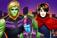Young Avengers (Earth-TRN562) from Mavel Avengers Academy 002
