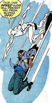 Alvin Bernard Harper (Earth-616) and Norrin Radd (Earth-616) from Silver Surfer Vol 1 5 0001