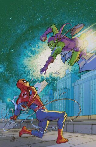 File:Amazing Spider-Man Vol 1 674 Marvel Comics 50th Anniversary Variant Textless.jpg